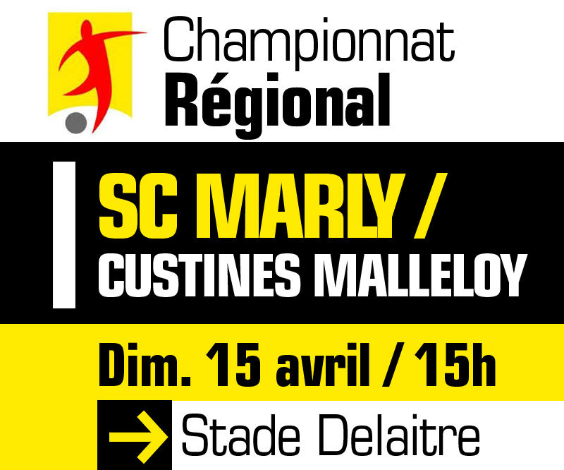 Foot : SC Marly/Custines Malleloy - Ville de Marly || Site officiel ...