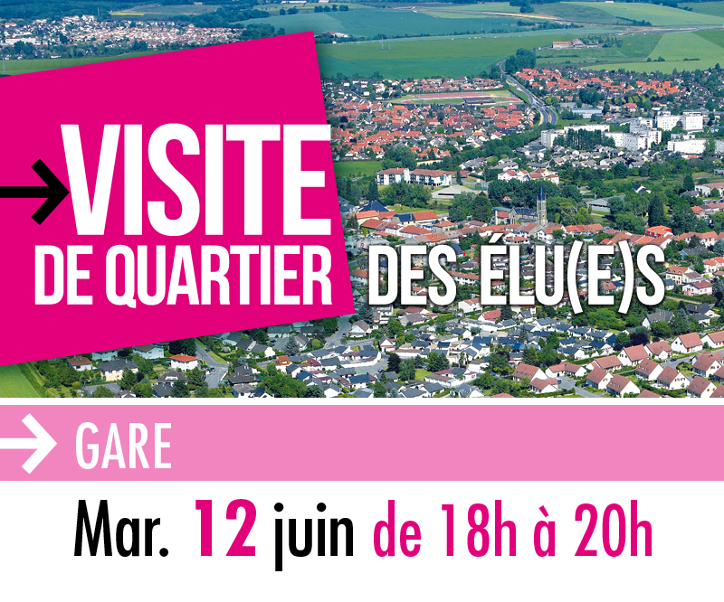 12 juin : visite du quartier Gare - Ville de Marly || Site officiel ...